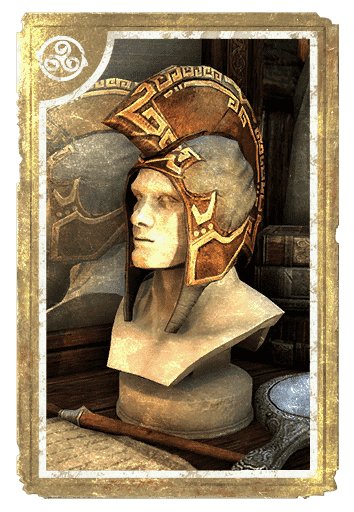 Dwarven Crested Hood card