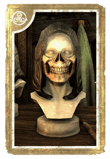Death Grin Skull Mask card