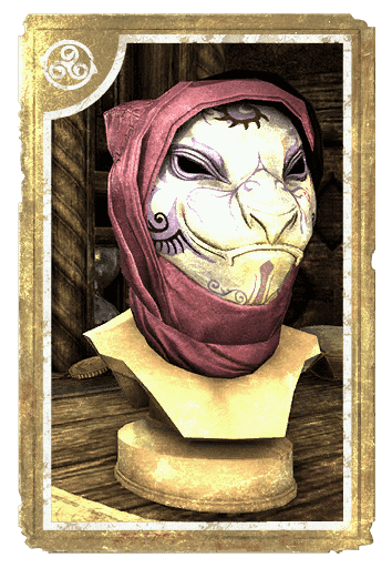 Dibella's Doll Mask, Khajiiti card