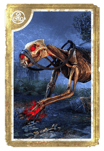 Skeletal Senche card