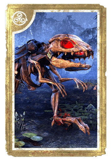 Skeletal Guar card