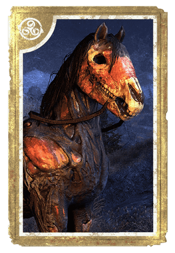 Zombie Horse card