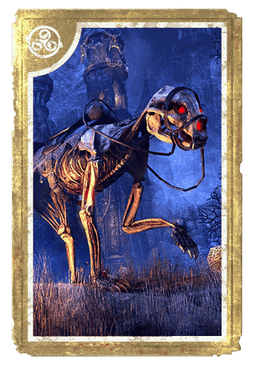 Skeletal Bear card