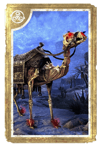 Skeletal Camel card