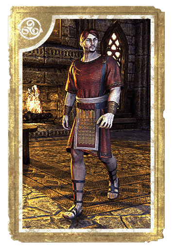 Imperial City Temple Tunic card