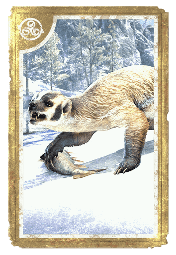 Heartland Brindle Badger card