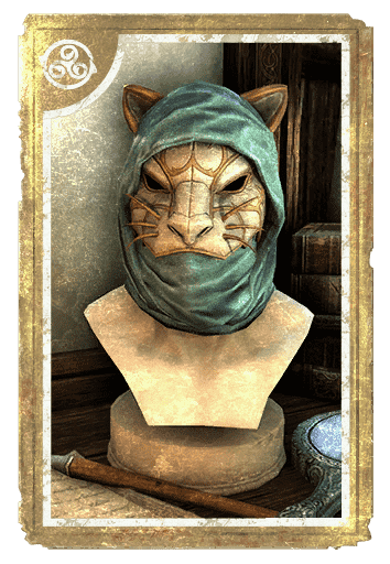 Rajhin's Cat Mask card