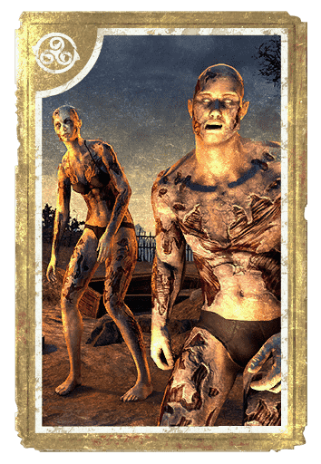 Decayed Zombie card