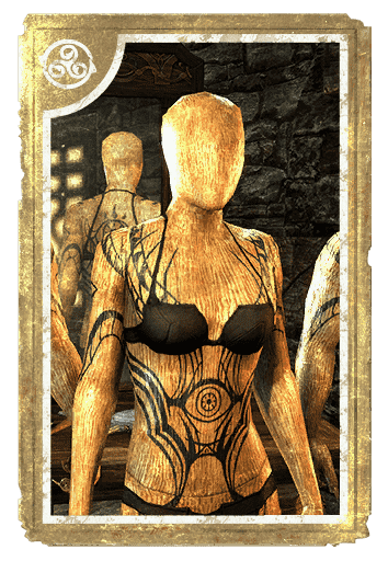 Scrying Eye Psijic Body Tattoo card