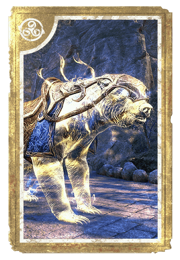 Psijic Bear Exemplar card