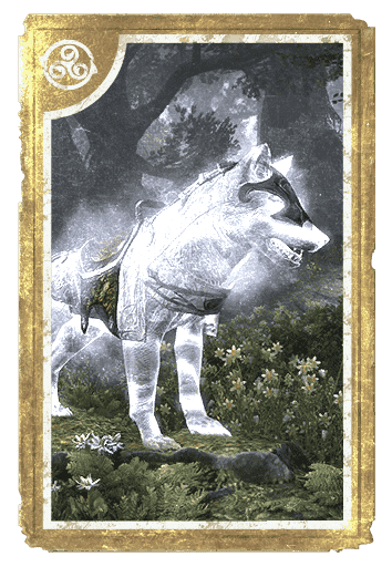 Phantom Ice Wolf card