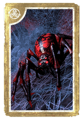 Skein Spider card