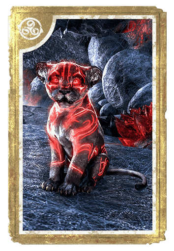 Senche Cub of Scarlet Regret card