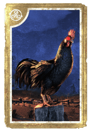 Daemon Cockerel card