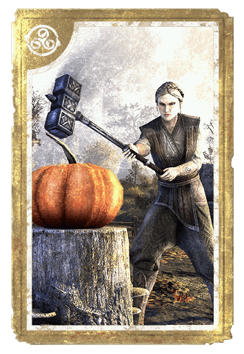 Gourd-Gallows Stump card