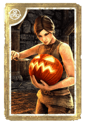 Rind-Renewing Pumpkin card