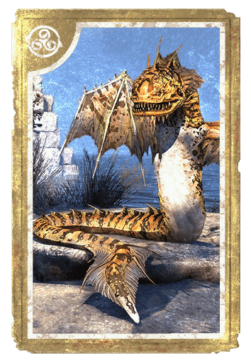 Crested Reef Viper card