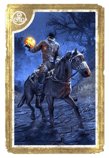 Hollowjack Rider Horse card