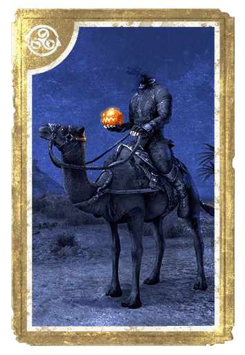 Hollowjack Rider Camel card