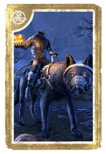 Hollowjack Rider Wolf card
