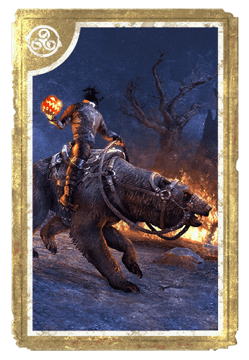 Hollowjack Rider Bear card