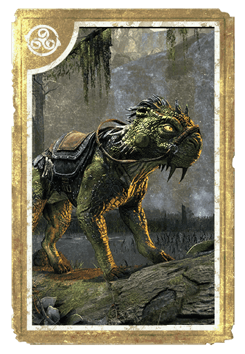 Senche-Lizard Steed card