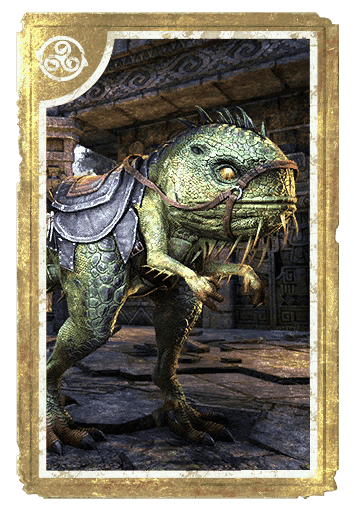 Guar-Lizard Steed card
