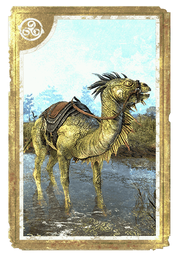 Camel-Lizard Steed card