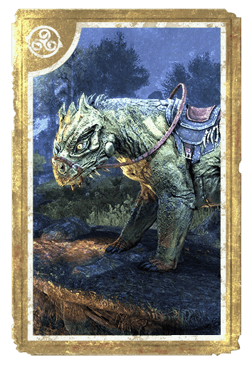 Bear-Lizard Steed card