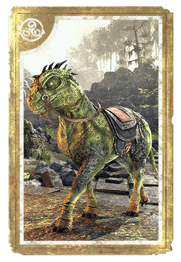 Horse-Lizard Steed card