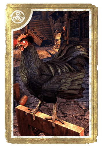 Daemon Chicken card