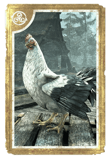 Riverwood White Hen card