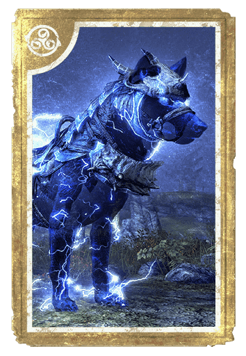 Dragonscale Storm Wolf card