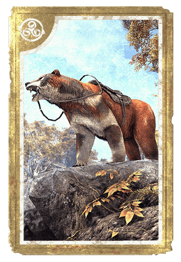 Sweetroll Grizzly card