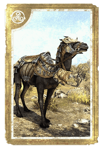 Dragonscale Barded Camel card