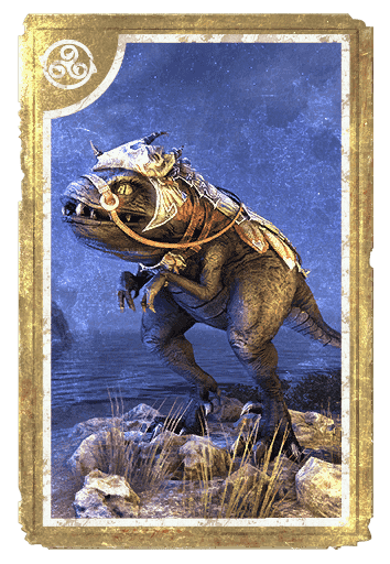 Dragonscale Barded Guar card