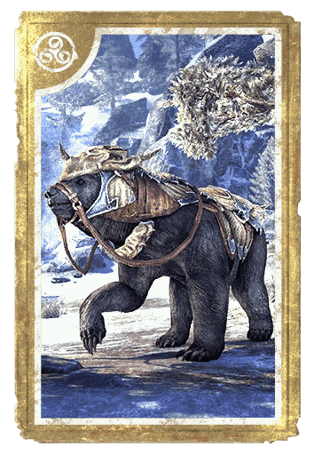 Dragonscale Barded Bear card