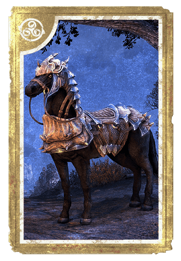 Dragonscale Barded War-Horse card