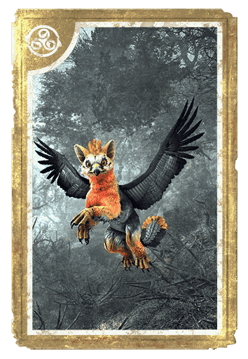Fledgling Vulture Gryphon card
