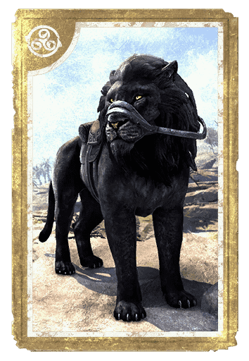 Black Senche-Lion card