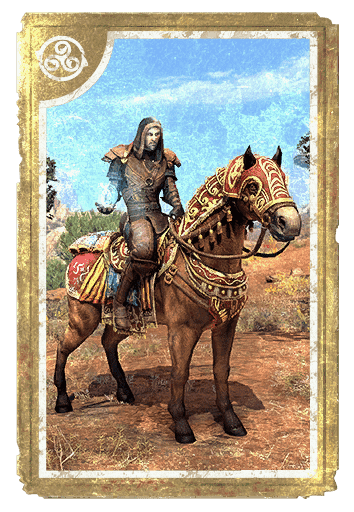 Baandari Pedlar Steed card