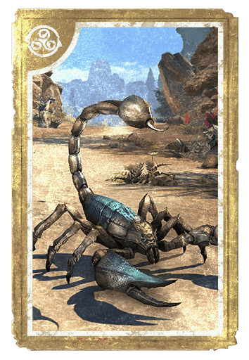 Cerulean Scorpion card