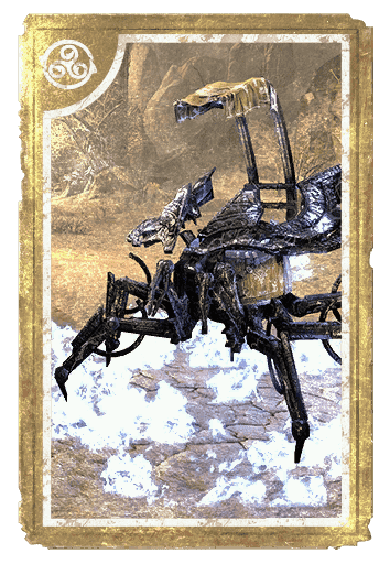 Ebony Dwarven Spider card