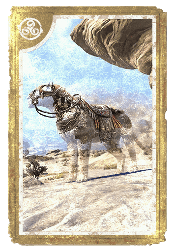 Anka-Ra Senche-Lion card