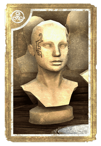 Pride of Alkosh Face Marks card