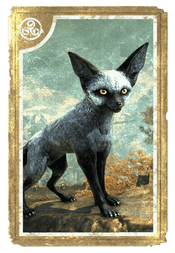 Dusky Fennec Fox card
