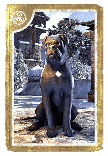 Black Morthal Mastiff card