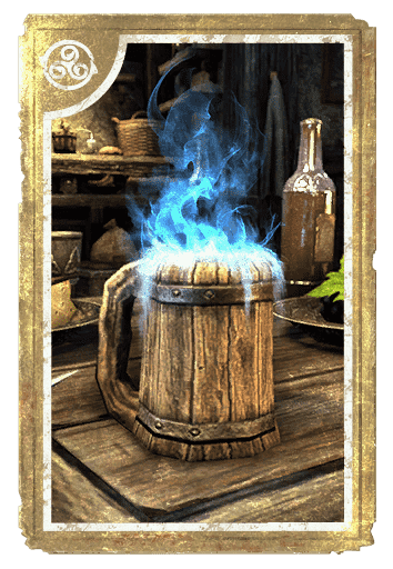 Crown Stout Magic Liqueur card