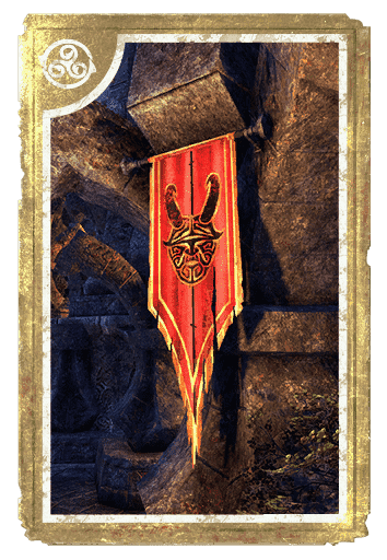 Banner, Clavicus Vile card