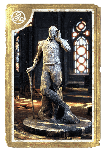 Statue of Sheogorath, the Madgod card